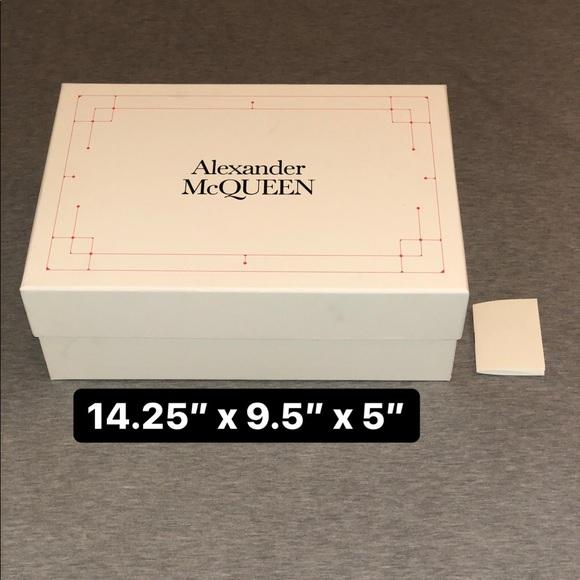 alexander mcqueen box